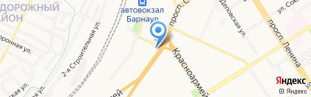 АннаРоза на карте Барнаула