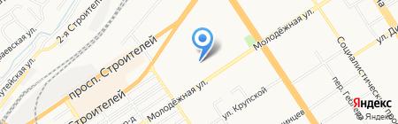 Евромедика на карте Барнаула