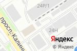 Схема проезда до компании ЭнергоТех в Барнауле
