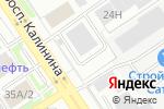 Схема проезда до компании Переплёт+ в Барнауле