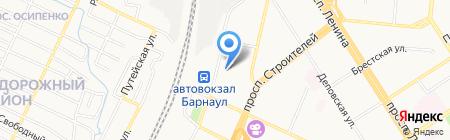 СЕС на карте Барнаула