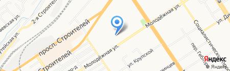 Евромедика Косметик на карте Барнаула