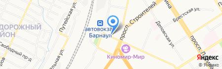 Связной на карте Барнаула