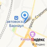 Платья & Трикотаж на карте Барнаула
