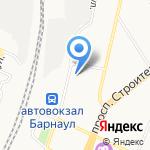 Парк Колес на карте Барнаула