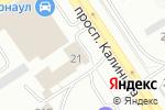 Схема проезда до компании ВИП-АВТО в Барнауле
