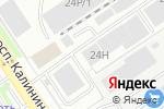 Схема проезда до компании Корпус в Барнауле