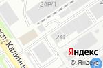 Схема проезда до компании Все для сварки в Барнауле