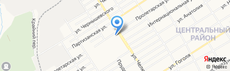 Первая помощь на карте Барнаула