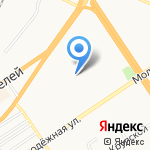 Центр развития ребенка-детский сад №193 на карте Барнаула