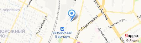 ЛампаФара на карте Барнаула