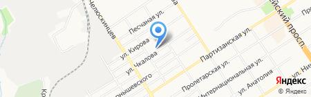 Центр детского творчества Центрального района на карте Барнаула