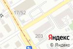 Схема проезда до компании Роста Барнаул в Барнауле