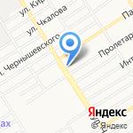 Магазин овощей и фруктов на карте Барнаула