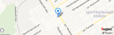 Дом-4 на карте Барнаула