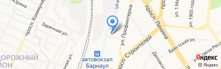 Региональная Транспортная Компания на карте Барнаула