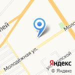 Бир Центр плюс на карте Барнаула