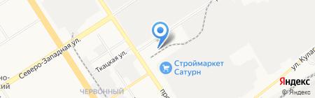 Магазин окон на карте Барнаула