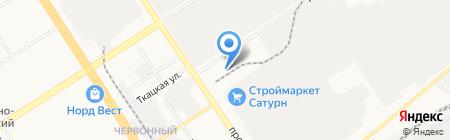 Монтажные пены на карте Барнаула