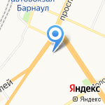 Лекс на карте Барнаула