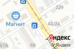 Схема проезда до компании Соня в Барнауле
