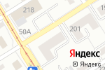 Схема проезда до компании Новинка в Барнауле