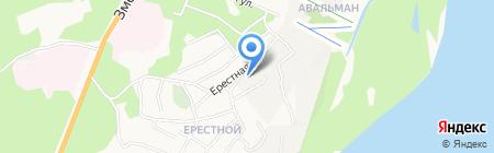 Спецсервис на карте Барнаула
