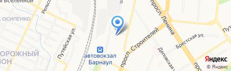 Сад чудес на карте Барнаула
