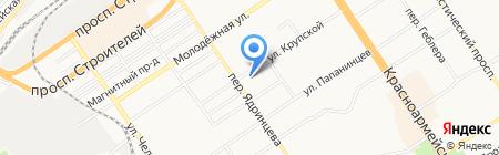 АлтГПУ на карте Барнаула