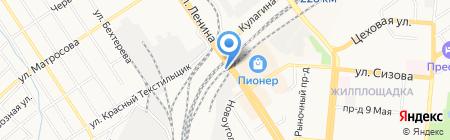 Siberian Motors на карте Барнаула