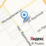 Полиглот на карте Барнаула