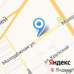 Галея на карте Барнаула