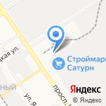Плазматех на карте Барнаула