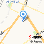 RedBerry на карте Барнаула