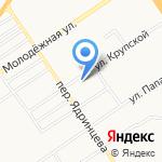 Алтайский государственный педагогический университет на карте Барнаула