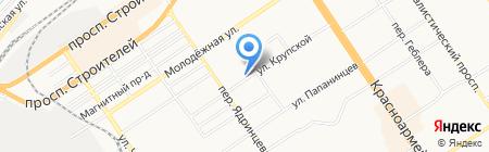 Полиглот языковая школа на карте Барнаула