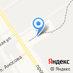 МОТОР ойл на карте Барнаула