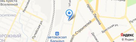 Управдом на карте Барнаула