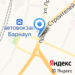 Ледяной ларец на карте Барнаула