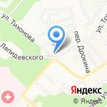 Аленький цветочек на карте Барнаула