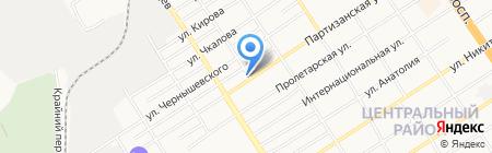 Новый Вкус на карте Барнаула