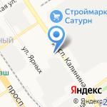 Западно-Сибирское предприятие магистральных электрических сетей на карте Барнаула