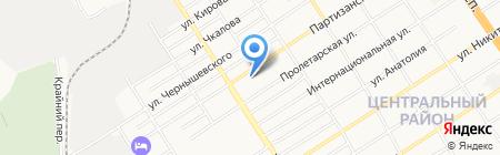 ГОРОДСКОЕ СПЕЦИАЛЬНОЕ ХОЗЯЙСТВО на карте Барнаула
