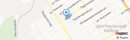 ОптТрейд на карте Барнаула