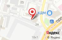 Схема проезда до компании Максимус в Барнауле
