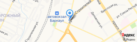 Эра Водолея на карте Барнаула