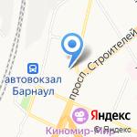 Слетать.ру на карте Барнаула