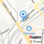 АвтоОбуффь на карте Барнаула