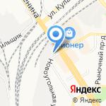 Авто Atis на карте Барнаула