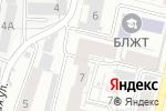 Схема проезда до компании Black Point Record`s в Барнауле